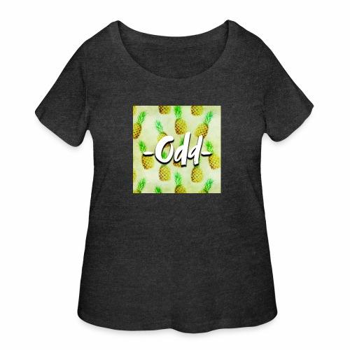 Odd Pineapple - Women's Curvy T-Shirt