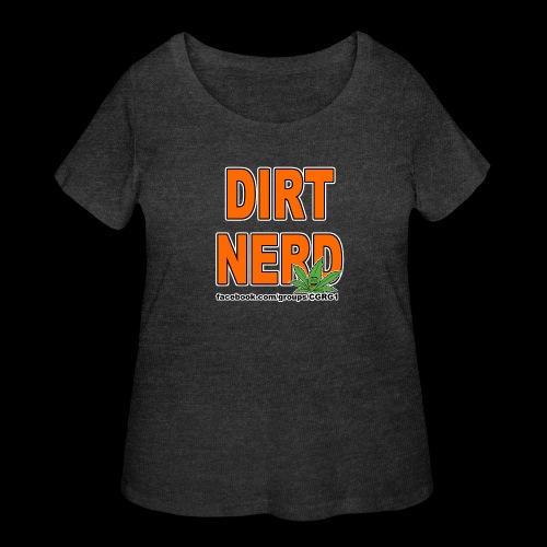 Dirt Nerd - Women's Curvy T-Shirt