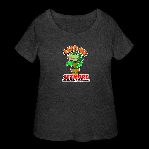 FEED ME SEYMORE - Women's Curvy T-Shirt