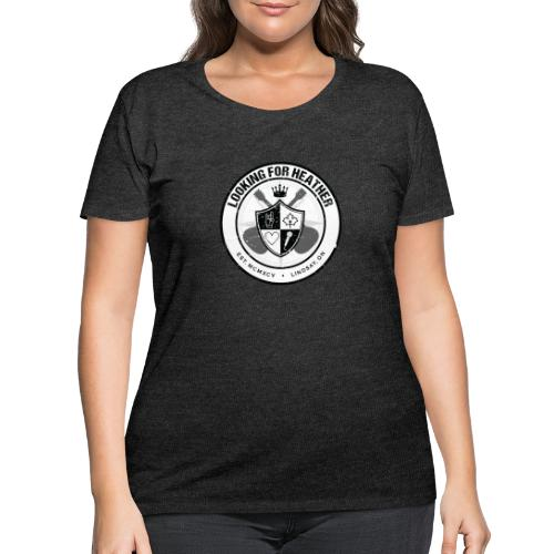 Looking For Heather - Crest Logo - Women's Curvy T-Shirt