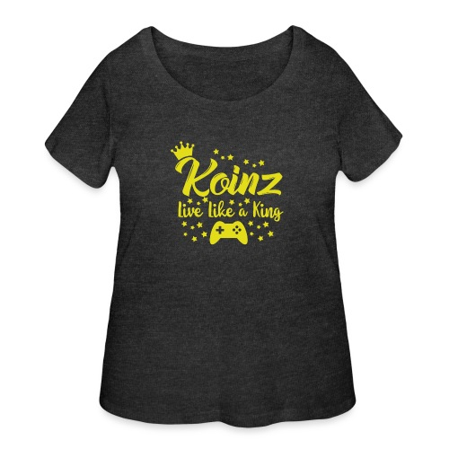 Live Like A King - Women's Curvy T-Shirt