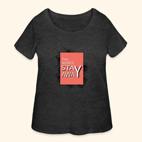 free advice - Women's Curvy T-Shirt