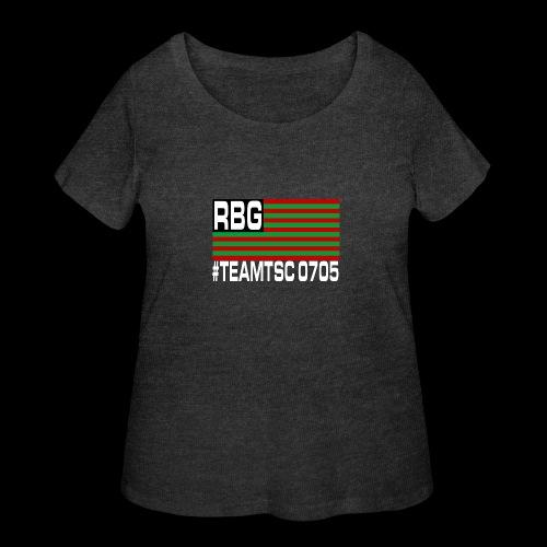 TeamTSC RBGFlag 2 - Women's Curvy T-Shirt