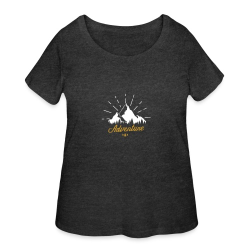 Adventure T-shirts Tees and Products - Women's Curvy T-Shirt