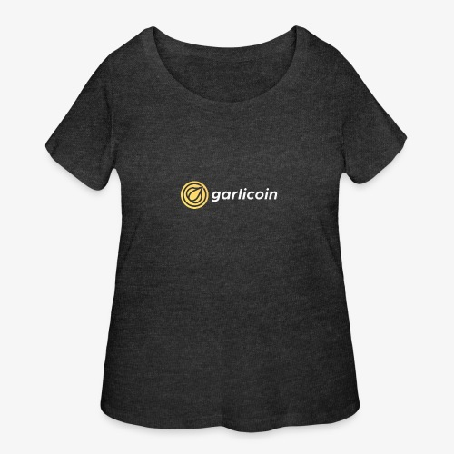 Garlicoin - Women's Curvy T-Shirt