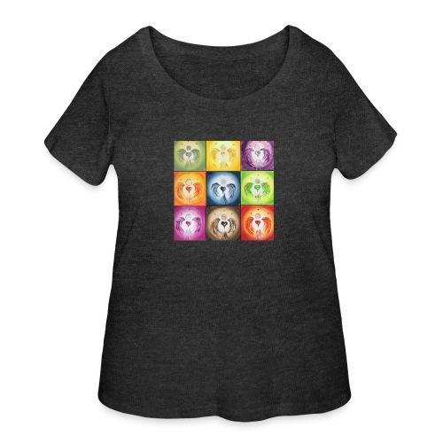 heartangel Mix - Women's Curvy T-Shirt