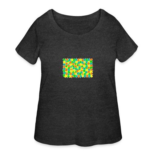 Dynamic movement - Women's Curvy T-Shirt