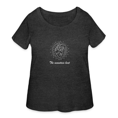 Adventure - The Mountain Beat T-shirts & Products - Women's Curvy T-Shirt