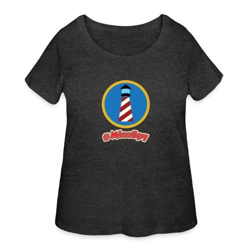 Storybook Land Canal Boats Explorer Badge - Women's Curvy T-Shirt