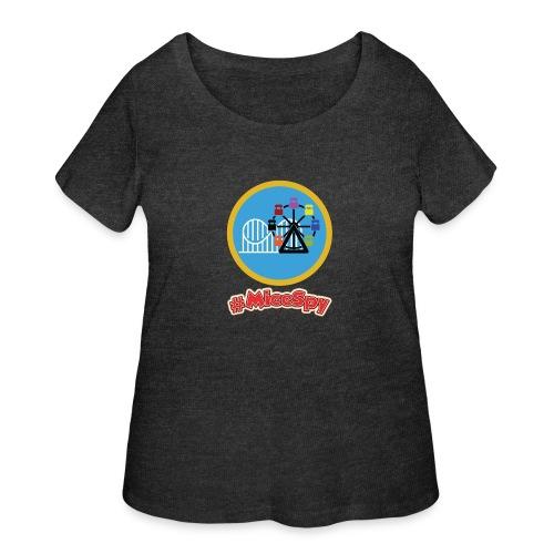 Paradise Pier Explorer Badge - Women's Curvy T-Shirt