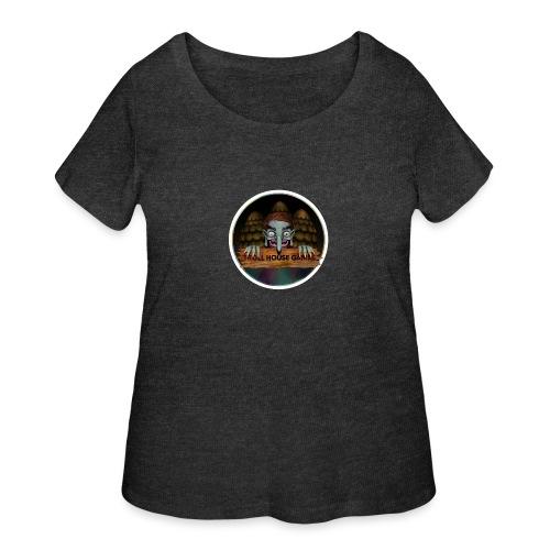 Troll House Games Logo - Women's Curvy T-Shirt