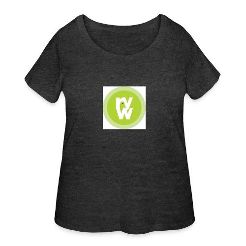 Recover Your Warrior Merch! Walk the talk! - Women's Curvy T-Shirt