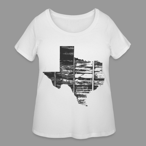 Real Texas - Women's Curvy T-Shirt