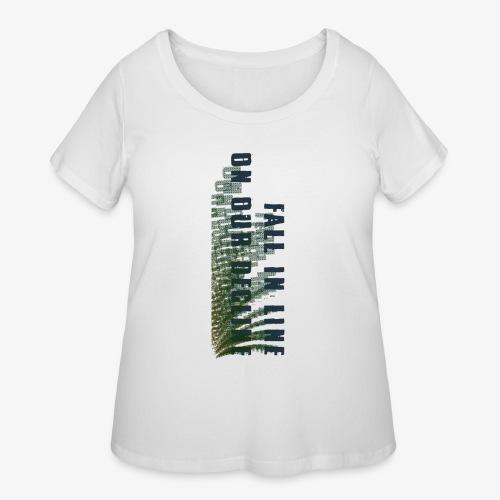 Decline - Women's Curvy T-Shirt