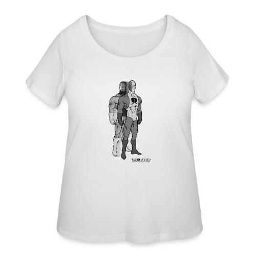 Superhero 9 - Women's Curvy T-Shirt