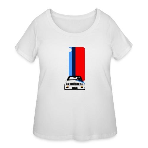 iPhone M3 case - Women's Curvy T-Shirt