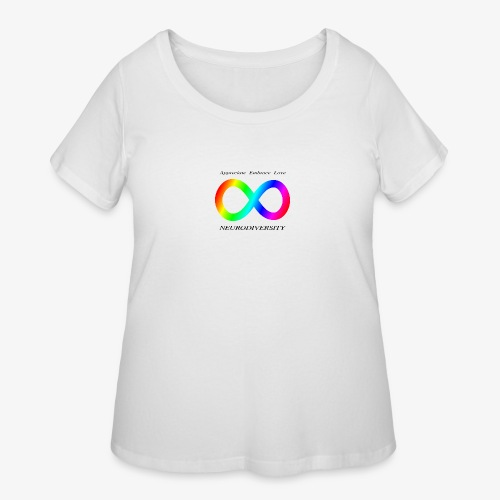 Embrace Neurodiversity - Women's Curvy T-Shirt