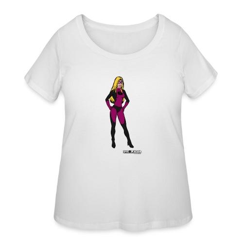 Superhero 5 - Women's Curvy T-Shirt