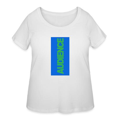 audiencegreen5 - Women's Curvy T-Shirt