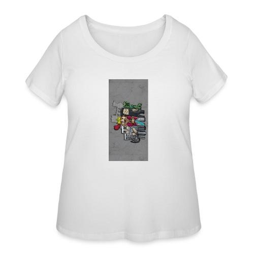 sparkleziphone5 - Women's Curvy T-Shirt