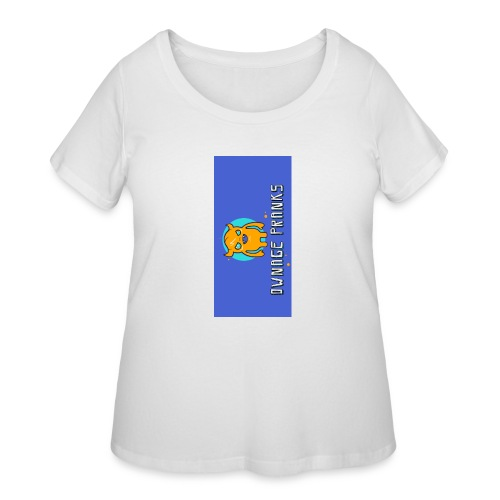 logo iphone5 - Women's Curvy T-Shirt