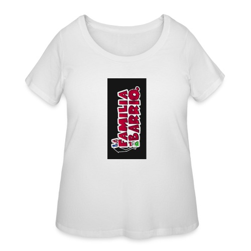 case2biphone5 - Women's Curvy T-Shirt