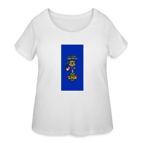 friendly i5 - Women's Curvy T-Shirt
