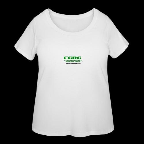 OLD CGRG LOGO - Women's Curvy T-Shirt