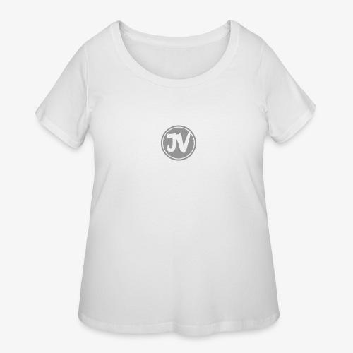 My logo for channel - Women's Curvy T-Shirt