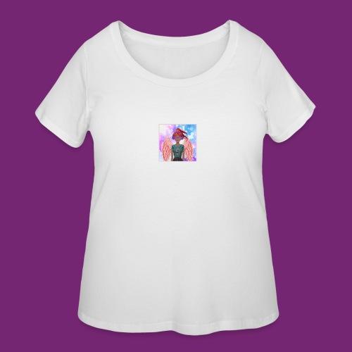 Angel dazed in love - Women's Curvy T-Shirt