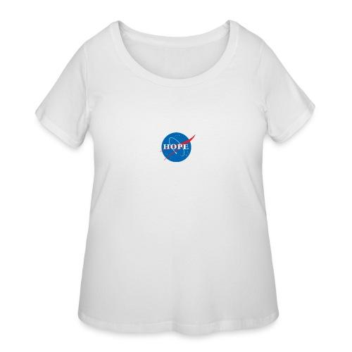 Hope (Nasa design) - Women's Curvy T-Shirt