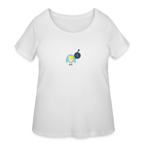 the Tyler - Women's Curvy T-Shirt