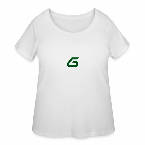 The New Era M/V Sweatshirt Logo - Green - Women's Curvy T-Shirt