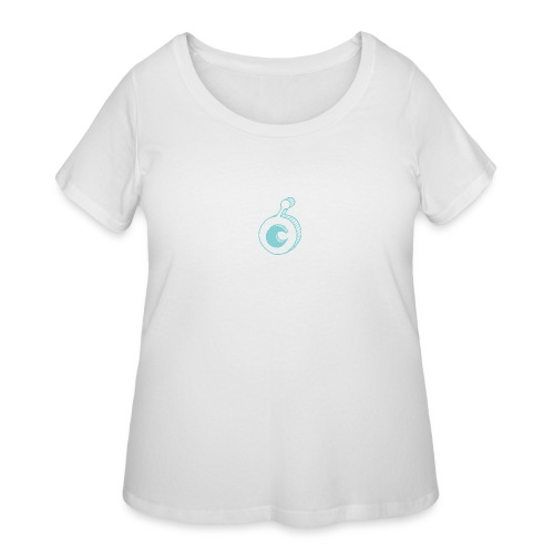 ost logo drawing - Women's Curvy T-Shirt