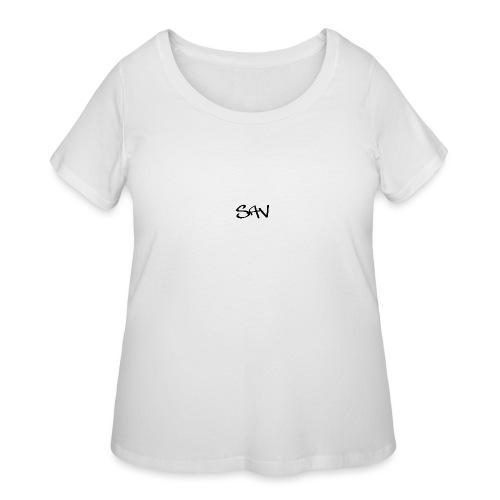 Classic Sav Logo - Women's Curvy T-Shirt