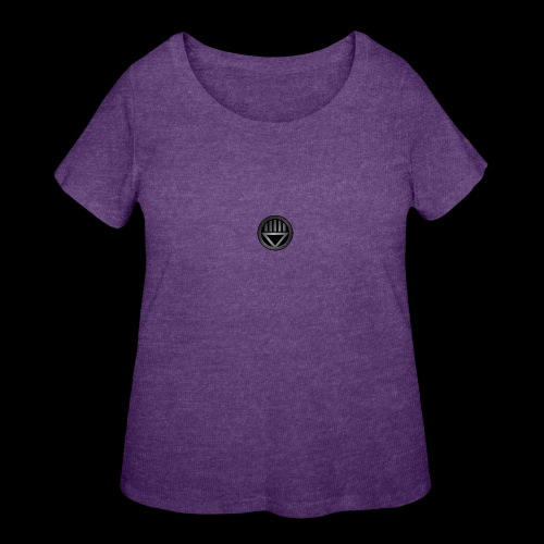 Knight654 Logo - Women's Curvy T-Shirt