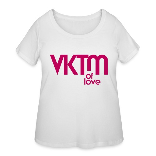 victim of love - Women's Curvy T-Shirt