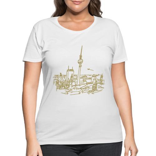 Panorama of Berlin - Women's Curvy T-Shirt
