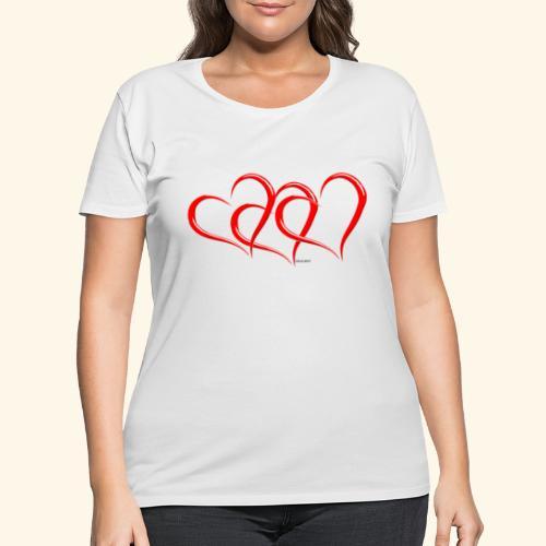 3hrts - Women's Curvy T-Shirt