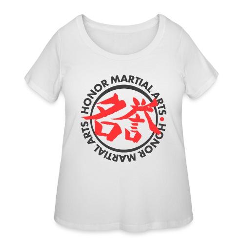 Honor Martial Arts - Women's Curvy T-Shirt
