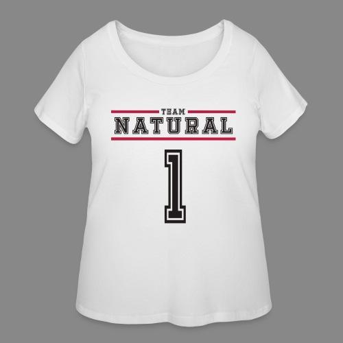 Team Natural 1 - Women's Curvy T-Shirt