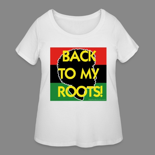 Back To My Roots - Women's Curvy T-Shirt
