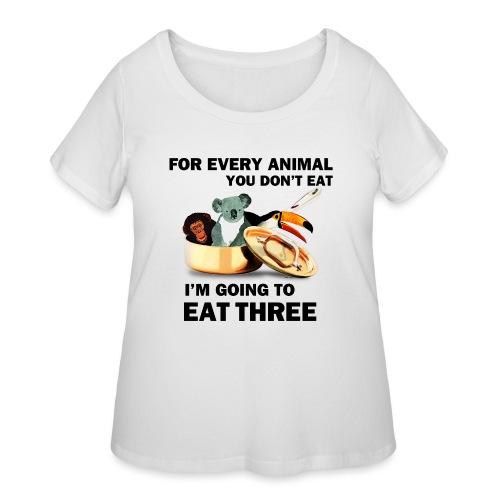 Every Animal Maddox T-Shirts - Women's Curvy T-Shirt