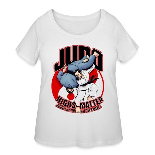 Judo Highs Matter - Women's Curvy T-Shirt