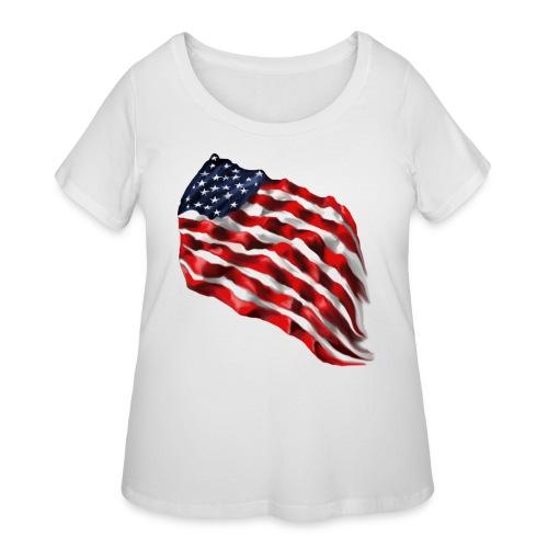 Bold Flag - Women's Curvy T-Shirt