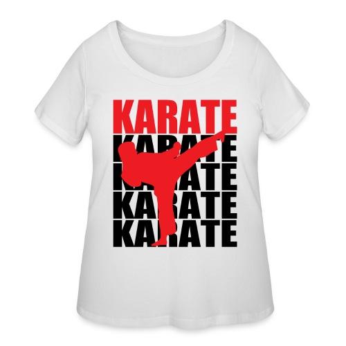 Karate - Women's Curvy T-Shirt