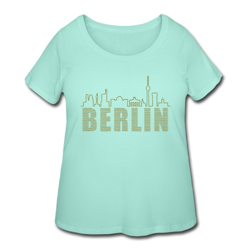 Skyline of Berlin - Women's Curvy T-Shirt