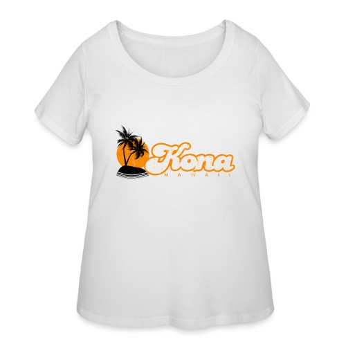 Kona Hawaii - Women's Curvy T-Shirt