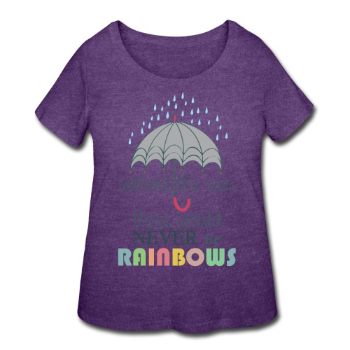Without the Rain - Women's Curvy T-Shirt