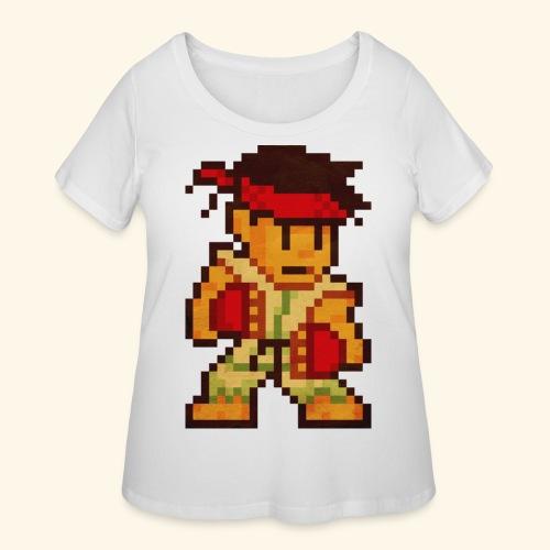Pixelfighter Karateka - Women's Curvy T-Shirt